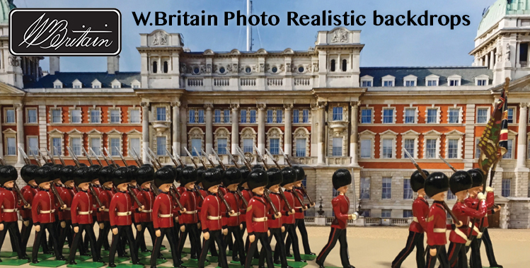 W.Britain Photo Realistic Backdrops
