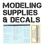 View products in the Modeling Supplies & Decals category