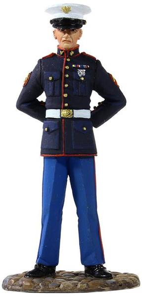 13001 - U.S. Marine in Dress Blue