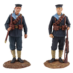 Historical Miniature Toy Soldier Jack Tars & Leathernecks Matte 13019