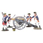 More about the '16015 - British Royal Artillery 6 Pound Gun with 4 Man Crew' product