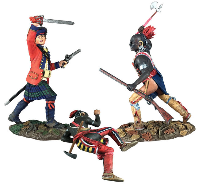 Historical Miniature Toy Soldiers Clash of Empires Matte 16039