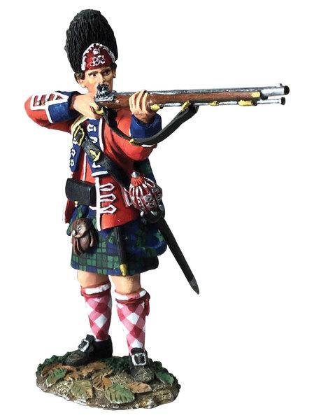 British 42nd Highland charging William Britains 27065  54mm
