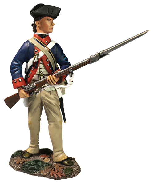 16056 42nd RHR Grenadier Standing Tearing Cartridge 1760-63 W.Britain