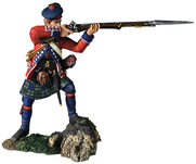 More about the '16055 - 42nd Royal Highland Regiment Battalion Coy Standing Firing No.2, 1760-63' product