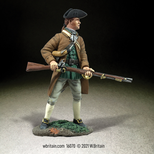 16070 Colonial Militia Standing Ready No.2
