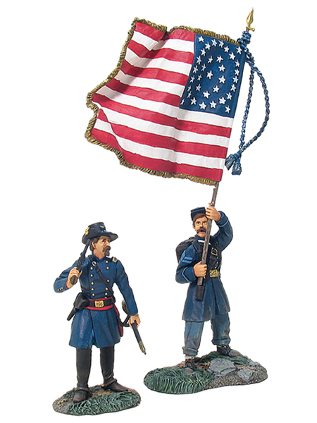 17662 - Union Infantry in Frock Coats Command Set No.1