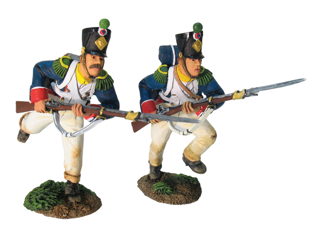 17670 - French Line Infantry Chasseurs Assault Set No.2
