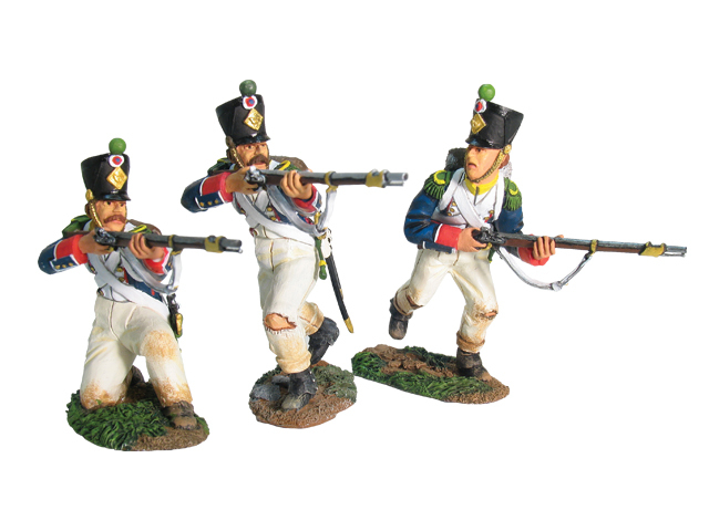 17671 - French Light Infantry Chasseurs Assault Set No.1