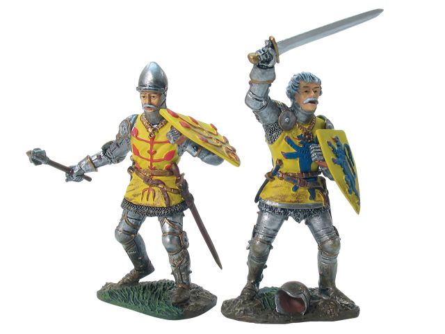17729 - French Foot Knight Set No.1