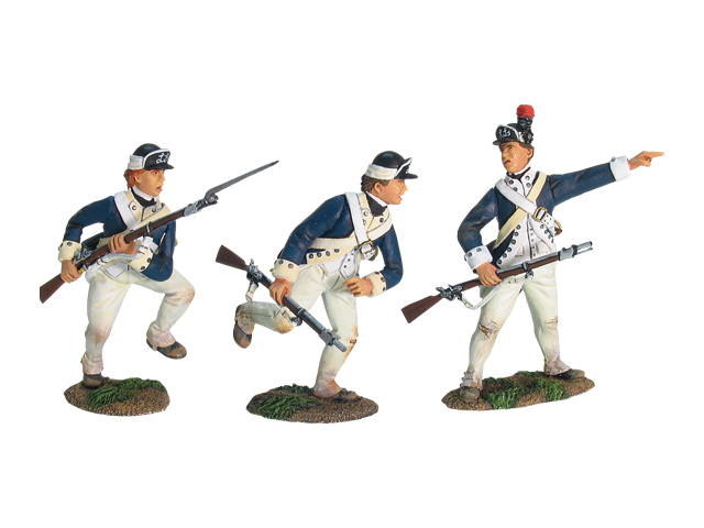 17759 - Redoubt No.10, American New York Light Infantry Charging Set No.1