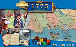 AG1755 Rebellion Strategic Board Game