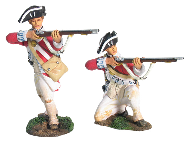 17764 - Redoubt No.10, British 17th Regiment of Foot Firing Line Set No.1