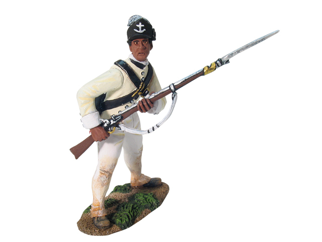 17802 - American Rhode Island Light Infantry At-The-Ready