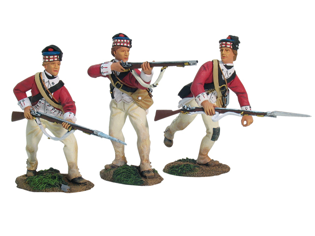 17836 - Redoubt No.10, British 71st Highlanders Defending Set No.1