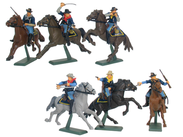 17855 - Wild West 7th Cavalry Mounted