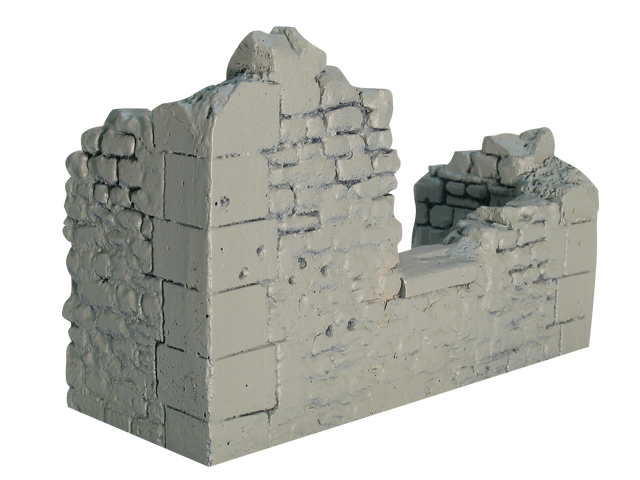 17861A - Ruined Building Section