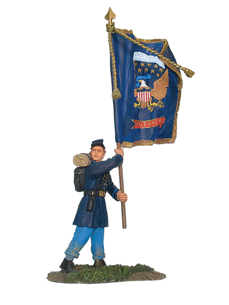 17866 - Union Infantry Regimental Flagbearer No.1, Ohio