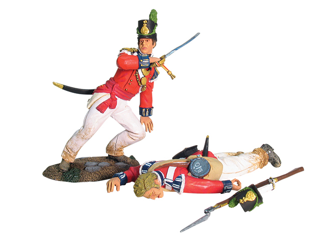 17877 - British Coldstream Guards Light Company Officer and Casualty Set No.1