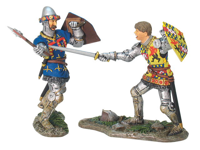 17887 - English and French Knight Hand-To-Hand Set No.1