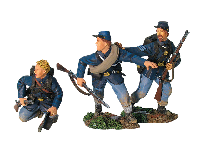 17888 - Union Infantry in Sack Coats Routing Set No.1