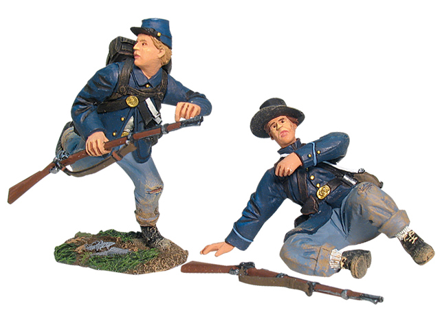 17897 - Union Infantry in Sack Coats Routing Set No.2
