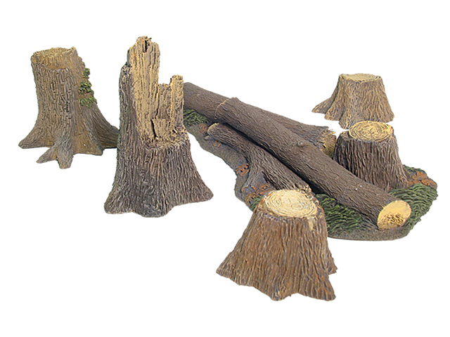 17910 - Fallen Tree and Stumps Accessory Set