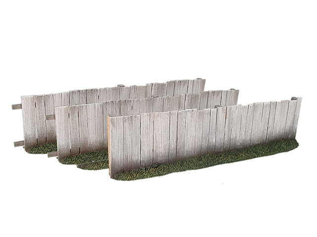 17919 - Plank Fence Straight Sections