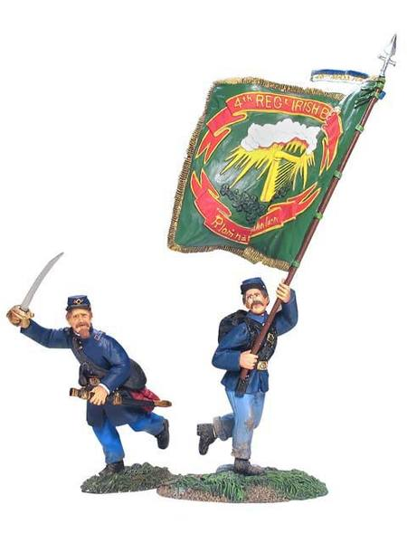 17933 - Union Infantry Command Set No.2, Irish Brigade, 28th Massachusetts