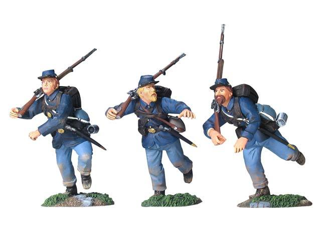17934 - Union Infantry in Sack Coats Charging Set No.1