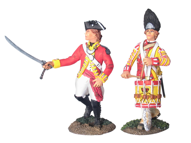 17956 - British 80th Foot Advancing Command Set No.1