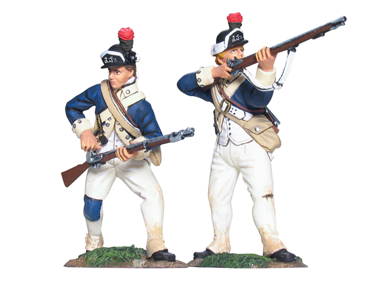 17962 - American New York Light Infantry Firing Line Set No.1