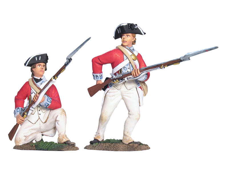 17963 - British 17th Foot Firing Line Set No.2