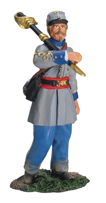 17989 - Confederate Infantry Officer Advancing No.1