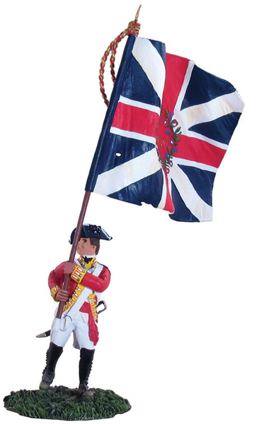 18007 - British 80th Foot Flagbearer King's Colour
