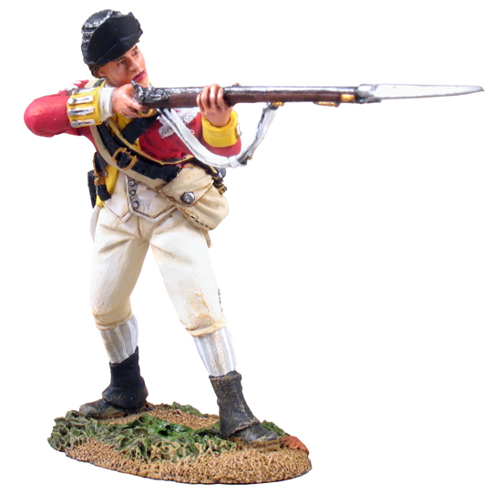 18026 - British 10th Foot Light Infantry Standing Firing No.1