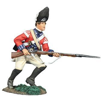 W Britain toy soldiers 18036 American Revolution