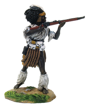 20000 - OSPREY ART SERIES - Zulu iNdluyengwe Regiment - Standing Firing No.1