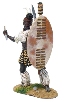 20002 - OSPREY ART SERIES - Zulu iNdlondlo Regiment, Throwing Spear No.1