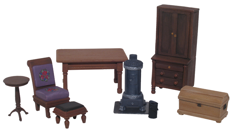 20014 - 19th Centruy Furnishings Accessory Set No.1