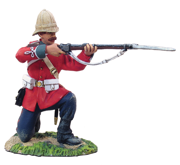 W Britain toy soldier Zulu War 20018