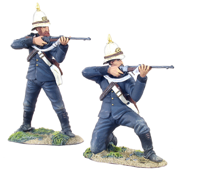 20020 - Natal Mounted Police Firing Line Set No.1