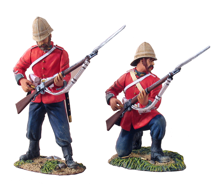 20023 - British 24th Foot Firing Line Set No.1