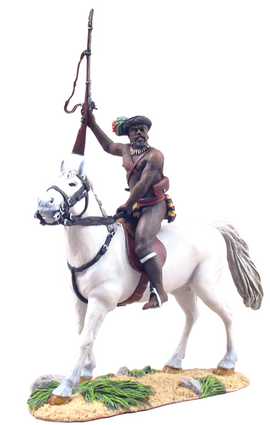 20048 - Zulu Induna, Prince Dabulamanzi Mounted (Zulu Commander at Rorke's Drift)