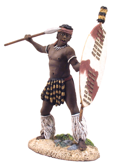 W Britain toy soldier Zulu War 20053