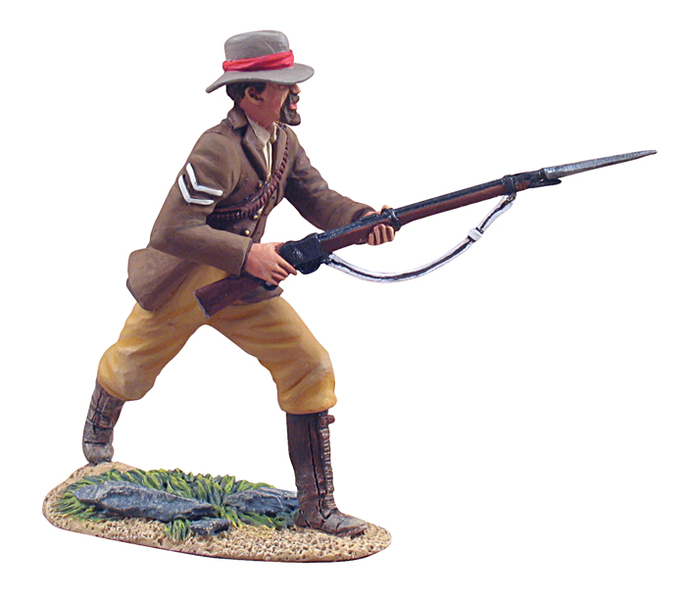 W Britain toy soldier Zulu War 20058