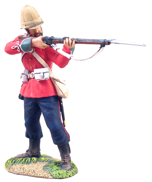 W Britain toy soldier Zulu War 20071