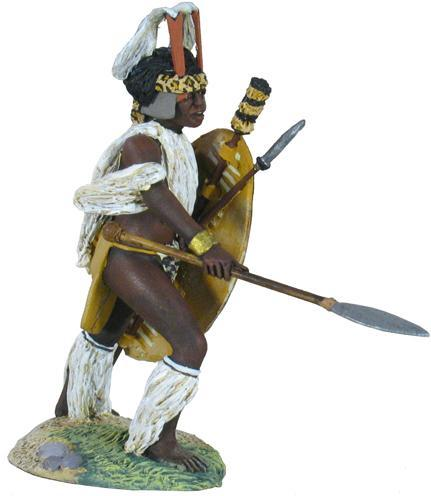 W Britain toy soldier Zulu War 20137