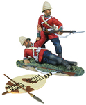 W Britain toy soldier Zulu War 20143