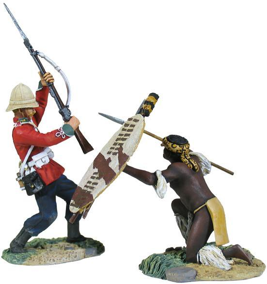 W Britain toy soldier Zulu War 20146